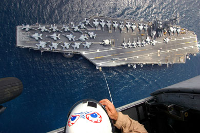 U.S. to reduce presence in Gulf from two carrier groups to one