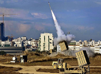 Israel forces make heavy use of combat drones, improved Iron Dome