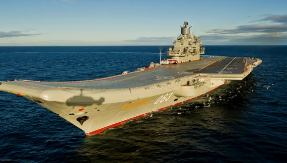 China takes note as Russia deploys its lone aircraft carrier to Syria