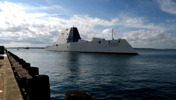 Advanced U.S. guided-missile destroyer again sidelined with engineering issues