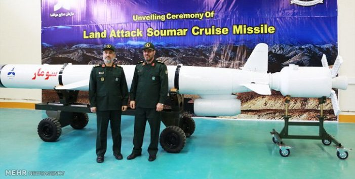 Iran downplays test of nuclear-capable 'Soumar' missile reportedly designed to target Israel