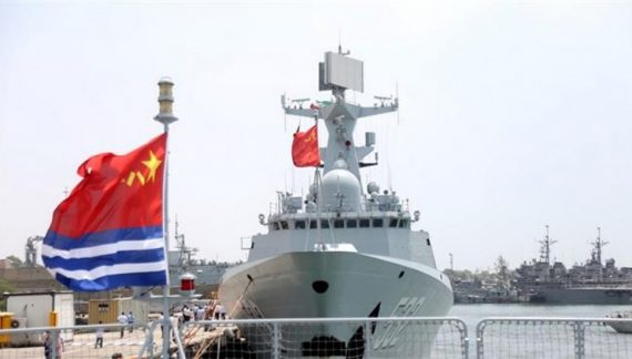 Iran in Gulf exercise with China after series of incidents targeting U.S. Navy