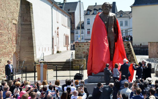 German president stuns Chinese hosts with speech condemning Karl Marx