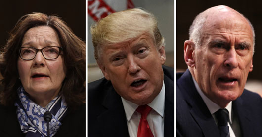 Former CIA official in Trump White House says U.S. intel leaders 'violated mandate'