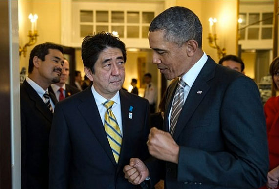Obama cancels Abe meeting at G8 in apparent deference to Beijing