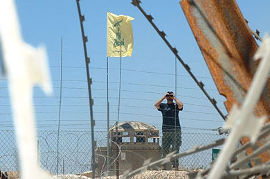 Hizbullah deploys troops on Israel's border for first time since 2006
