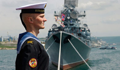 Russia's Navy seeks return to glory days in hot spots and cold Arctic
