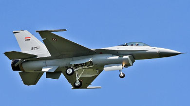 Report: Egypt's F-16s have inferior munitions compared to Israel's