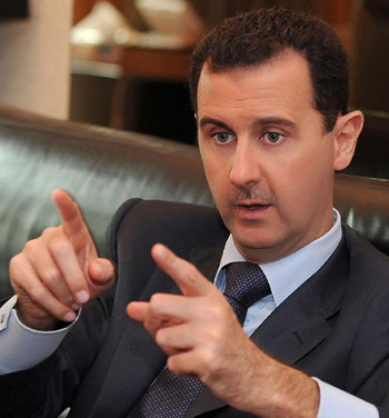 Chemical weapons called critical for Assad's military, political survival