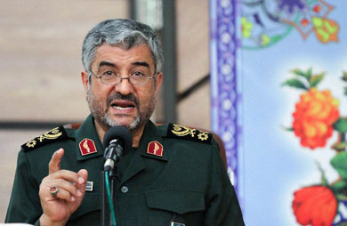 Islamic Revolutionary Guard Corps confirms 'intellectual' role in Syria