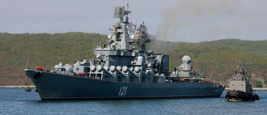 Russian naval flotilla stages an anti-U.S. show of force in Venezuela