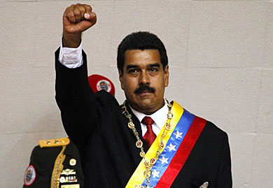 Venezuela's leader goes on national TV, claims U.S. is out to get him