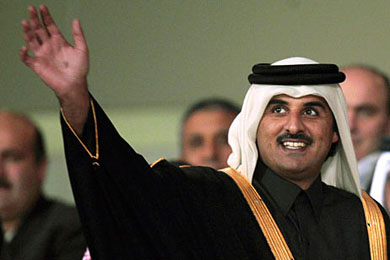 Qatar under new emir pulls back from supplying arms to Syrian rebels