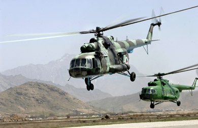 Russia reports $5 billion in helicopters sales to Mideast militaries