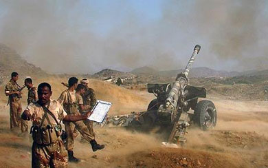 Iran-backed Shi'ite fighters said to control much of N. Yemen