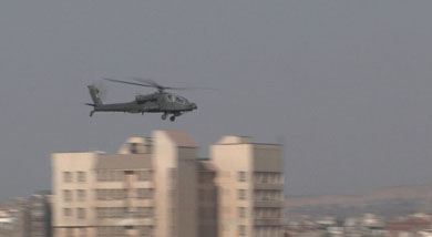 Egypt reports Al Qaida team fired Russian SAM at Apache helicopter