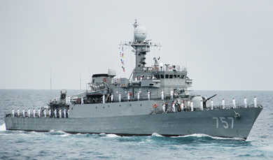 Seoul to deliver warship to Manila to boost defenses against China