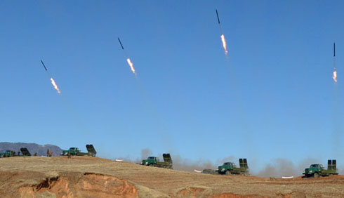 N. Korean artillery rocket launchers seen posing 'real threat' to Seoul