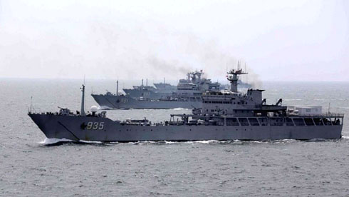 Showdown in the Pacific: Military tensions high on eve of key ruling