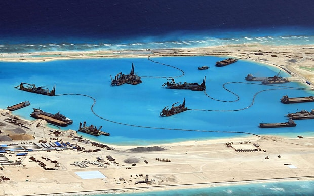 Low-profile, high-altitude U.S. agency confirms island buildup is 'for military purposes'