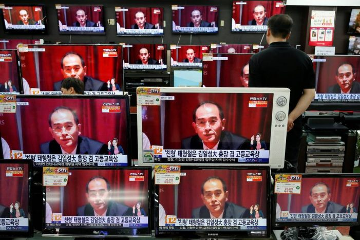 High-ranking defector breaks his silence: Citizens of Pyongyang, my name is Thae Yong-ho