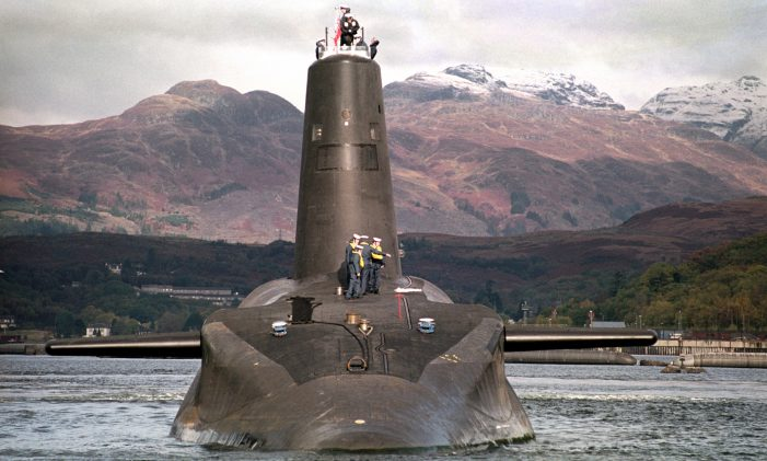 Reported misfire of Trident missile brings Scottish heat on British prime minister