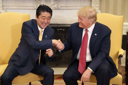 The Trump/Abe bromance is a direct snub of China's self-importance