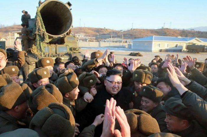 Absence of North Korea's chief of missile operations noted before launch of Pukguksong-2