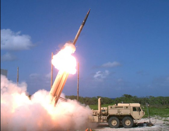 The U.S. weighs sale of THAAD to Taiwan