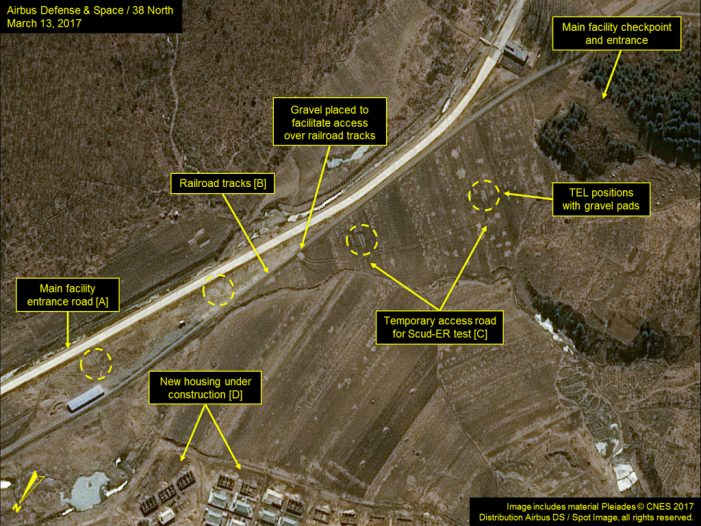 Satellite images of North Korean site provided few clues a launch was imminent