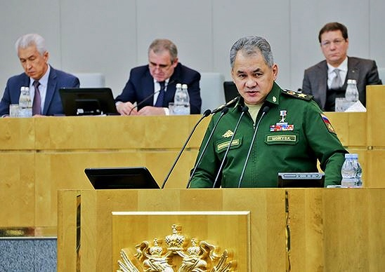 Sergei Shoigu: Russian defense chief itemizes the pluses in Syria campaign