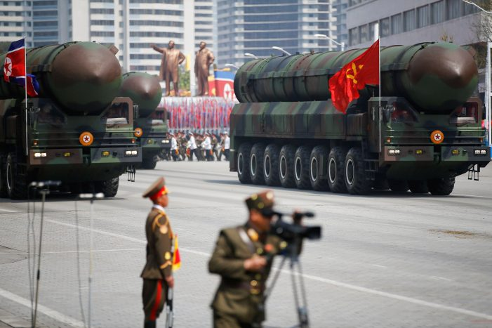 Chinese launchers at Pyongyang missile parade raise eyebrows