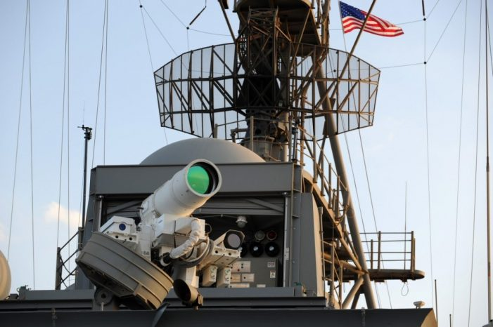 Laser weapons, finally: From concept to reality for U.S. military