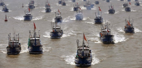 Chinese maritime militia, world's largest fishing fleet, provide 'service on demand' for PLA