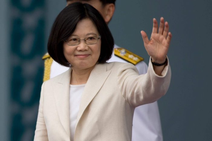 Tiny Taiwan again offends China in move possibly coordinated with White House