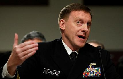 Cyber Chief Rogers: U.S. outgunned against info-war, infrastructure threats from rogue states