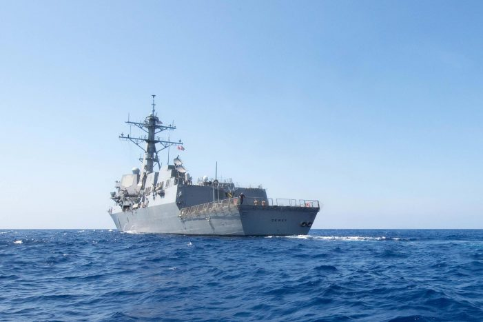 U.S. Navy conducts first challenge to Chinese maritime claims in Trump era