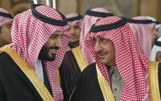 Saudi king gambles on rising prince and a strategic entente with Israel, U.S.