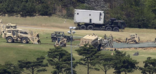 China demands inspection rights at THAAD site in South Korea