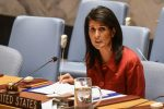 U.S. Ambassador to the UN Nikki Haley. / Reuters