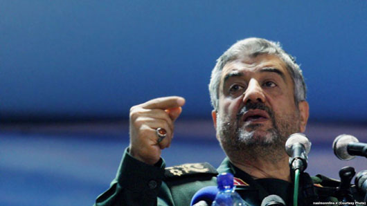 Iran's IRGC issues threat over sanctions: U.S. must move Gulf bases