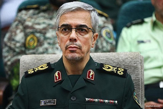 Iran general threatens 'U.S. bases and forces' stationed in region
