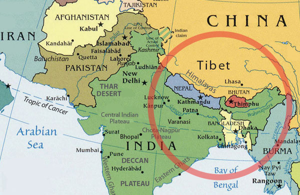 India intervenes at Bhutan's request after Chinese bulldozers crossed border to build highway