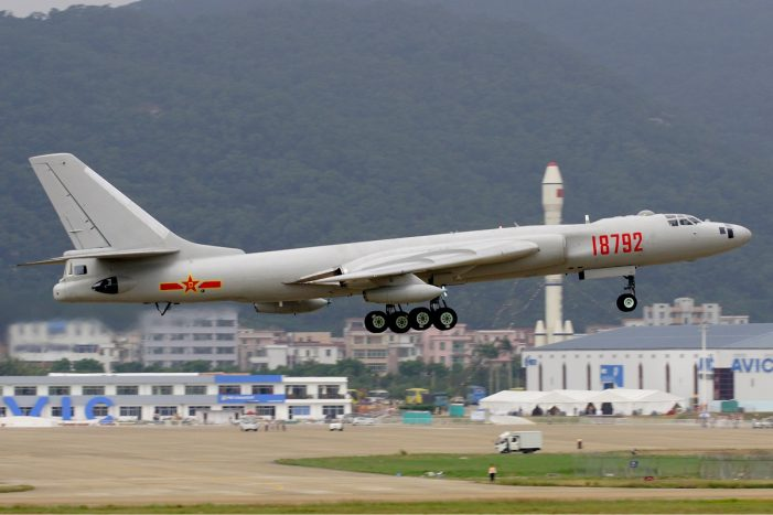Taiwan scrambles fighter jets to intercept Chinese bomber squadron near eastern coast