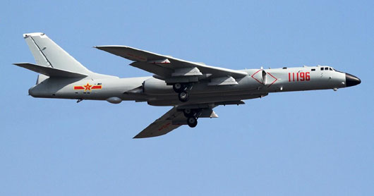 Chinese long-range bombers set off alarms with passes near Japan, Taiwan