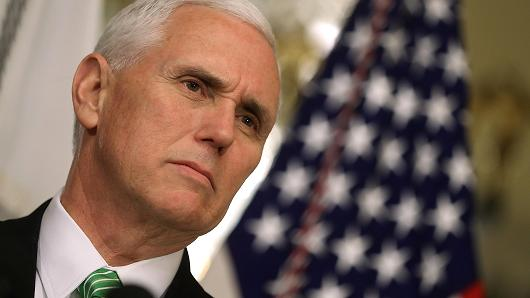 Pence: U.S. will not conduct direct talks with Pyongyang