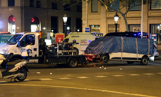 Police believe 12 planned deadly ramming attack in Barcelona