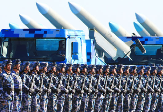 China's Xi Jinping stages landmark military parade in signal to U.S., CCP rivals
