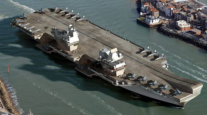 Britain to dispatch its aircraft carriers to patrol the Asia Pacific region