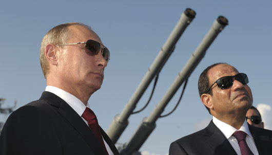 Egypt's unexpected high-profile role in Syria welcomed by Russia, Israel